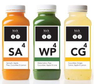 kick juice bars cold press juice